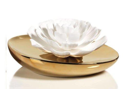Dream Porcelain Flower Diffuser - White Rose