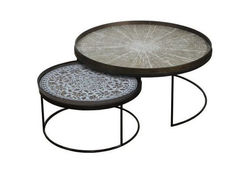Interchangeable Tray Table Set