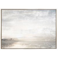 Aurora on the Lake I - Framed Canvas