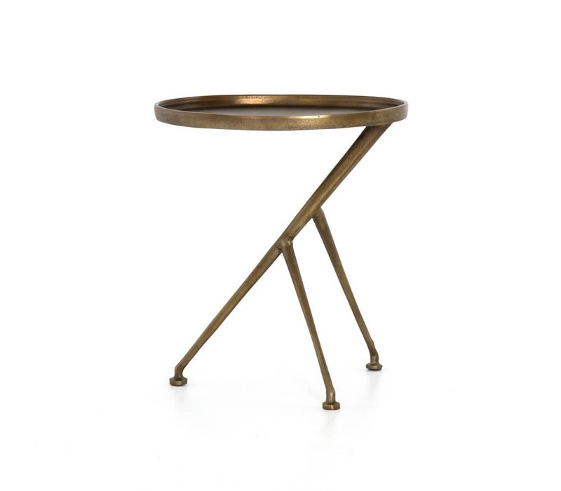 Schmidt Accent Table-Brass