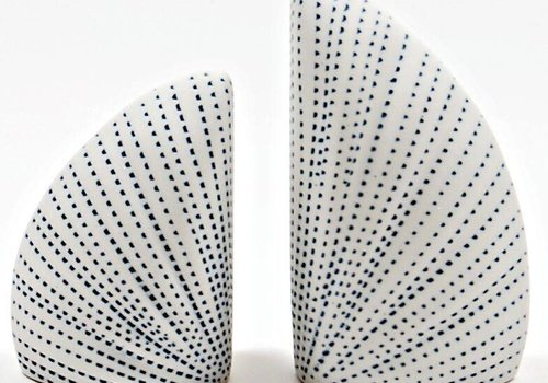 Ada Blue & White Salt & Pepper Shakers
