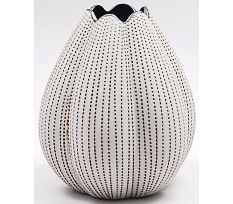 Champa Brown & Beige Tulip Vase