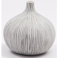 Congo Small White Vase