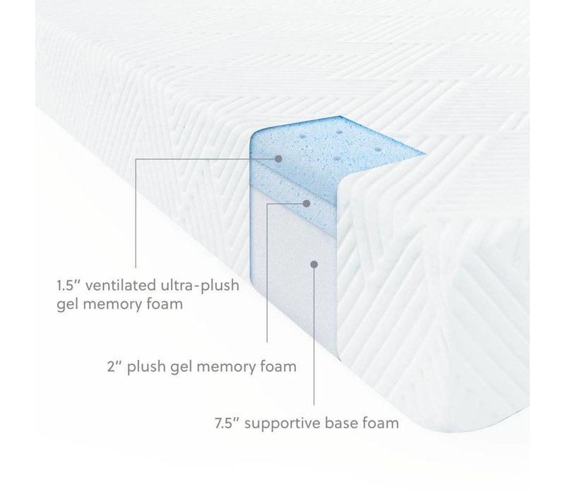"Wellsville 11"" Air Foam Gel Foam Mattress"