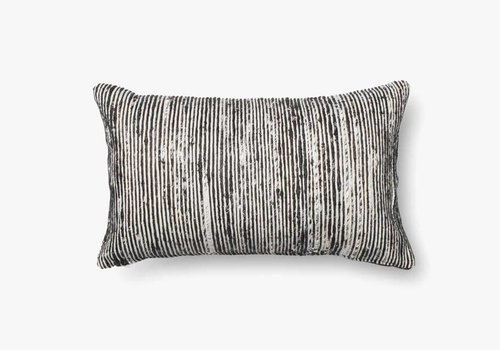 "Sari Black 21"" Kidney Pillow"