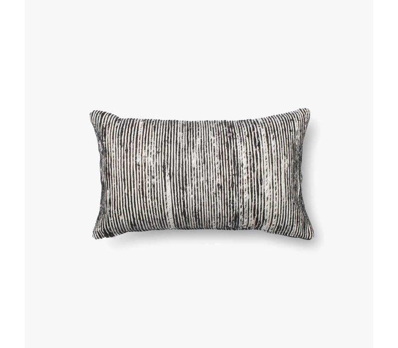 "Sari Black 21"" Kidney Pillow"