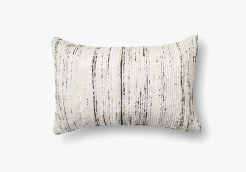 "Sari Silver 21"" Kidney Pillow"
