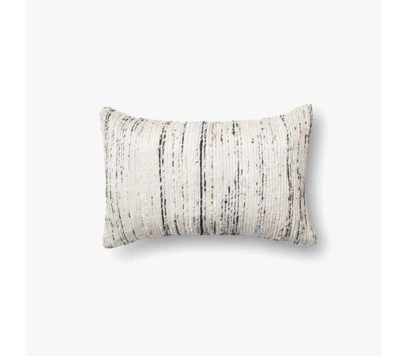 "Sari Silver 21"" Kidney Pillow"