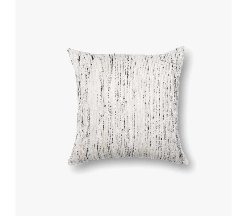 "Sari Silver 22"" Accent Pillow"