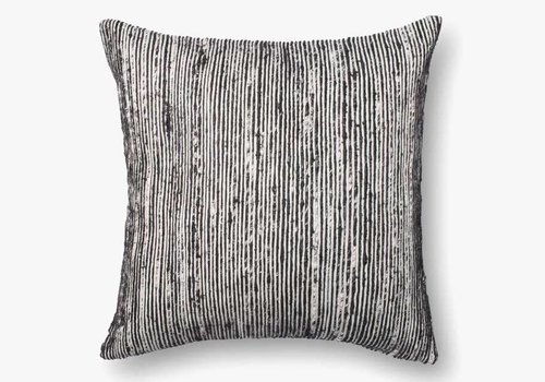 "Sari Black 22"" Accent Pillow"
