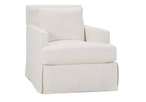 Laney Slipcover Swivel Glider Chair-Floor Model