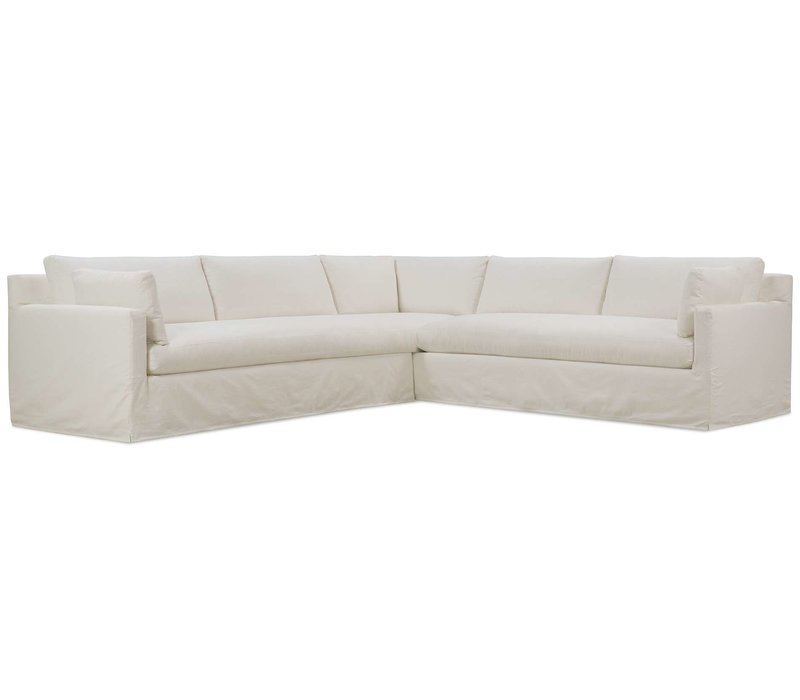 Sylvie Bench Seat Slipcover Sectional