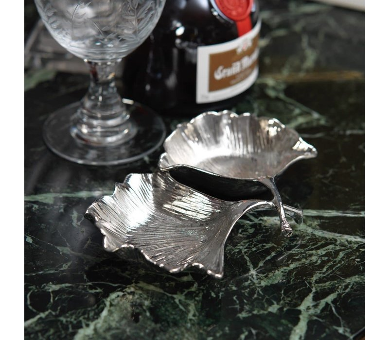Ginkgo Leaf Condiment Set