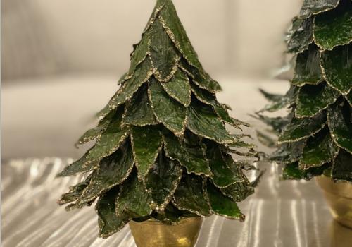 Natural Leaf Tree  - Small xma