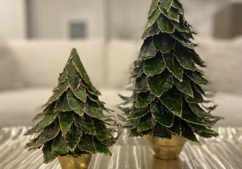 Natural Leaf Tree  - Medium xmas