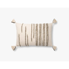 "Loloi Natural/Stone 16"" X 26"" Pillow"