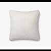 """Loloi White 22"""" X 22"""" Pillow"""