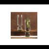 """HomArt Recycled Glass Bulb Vase - 11.5"""""""