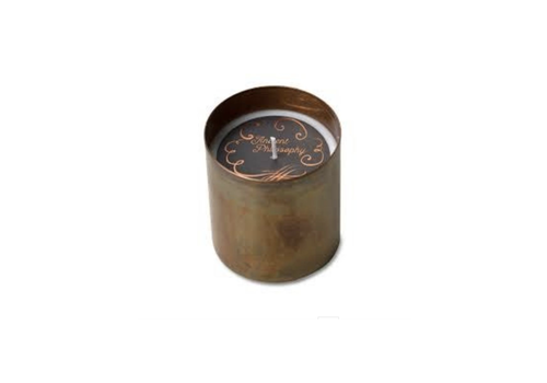 Himalayan Trading Post Dharamsala Copper Candle