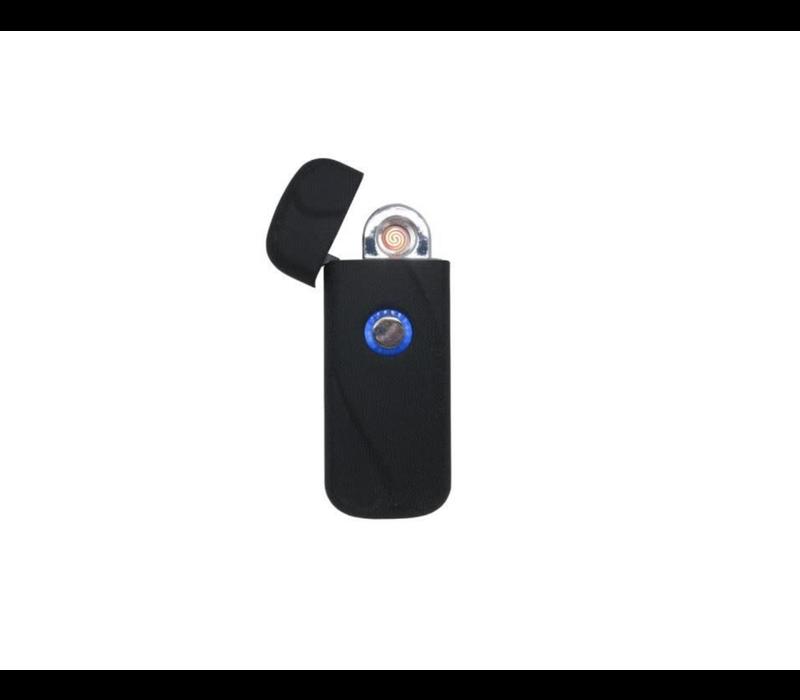 Windproof Coil Lighter Matte Black