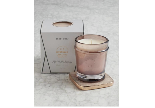 Mer-Sea & Co. Luxe Quartz Boxed Candle-Mystique