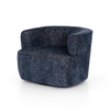 Mila Swivel Chair Navy