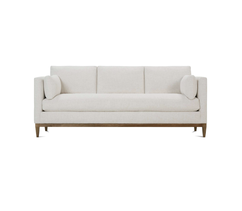 Leo Wood Trimmed Sofa