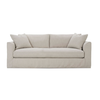 "Derby Sofa 88"" Slip Covered Sofa  - Bench Seat"