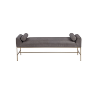 Coco Leather Bench