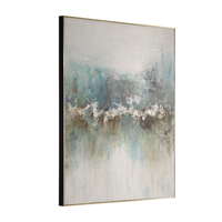 "MOUNTAIN FRAMED CANVAS  49'H X 37""W"