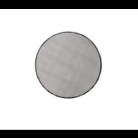 Junius Black Round Mirror 43 X 43