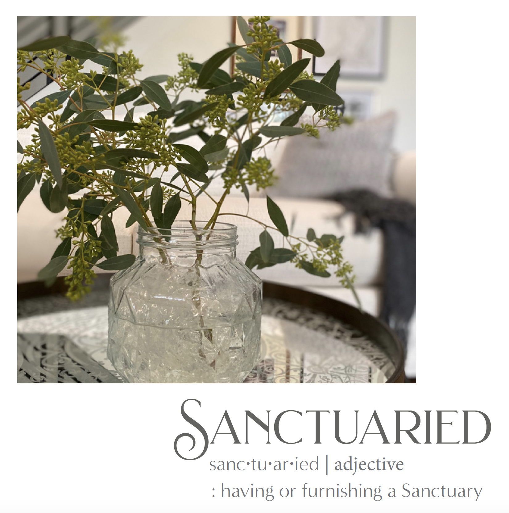 { the 1st}   Sanctuaried