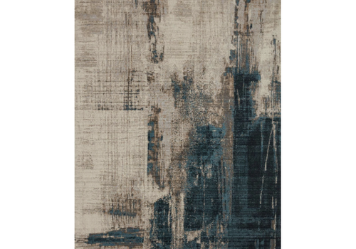 LEIGH Rug Sample - SLATE/DENIM