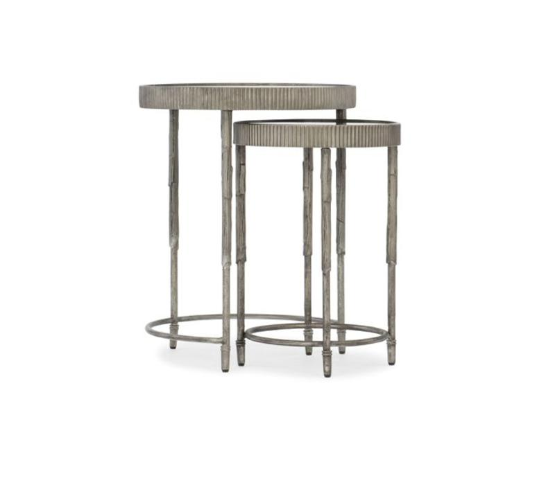 Ella Iron & Mirror Nesting Tables