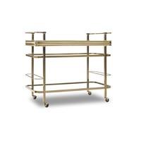 Genevieve Gold Bar Cart