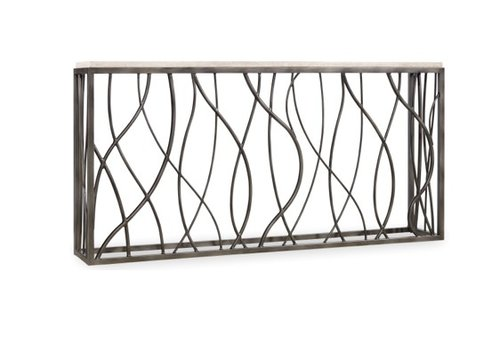 Nora Marble Console Table Floor Model