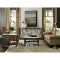Nora Steel & Marble End Table