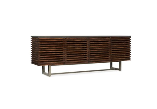 Solstice Wood Entertainment Console