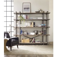 Studio 7H Scaffold Acacia Bookcase