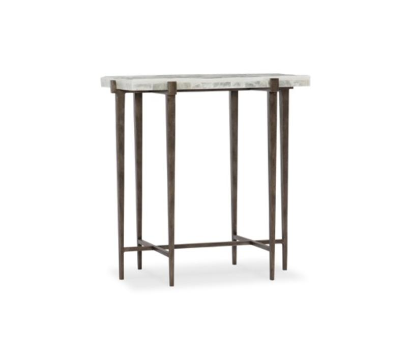 Wesley Steel Accent Table