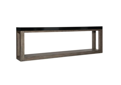 Vienna Oak Long Console Table