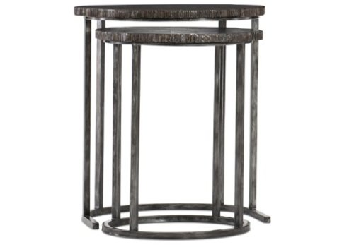 Elias Petrified Wood Nesting Tables