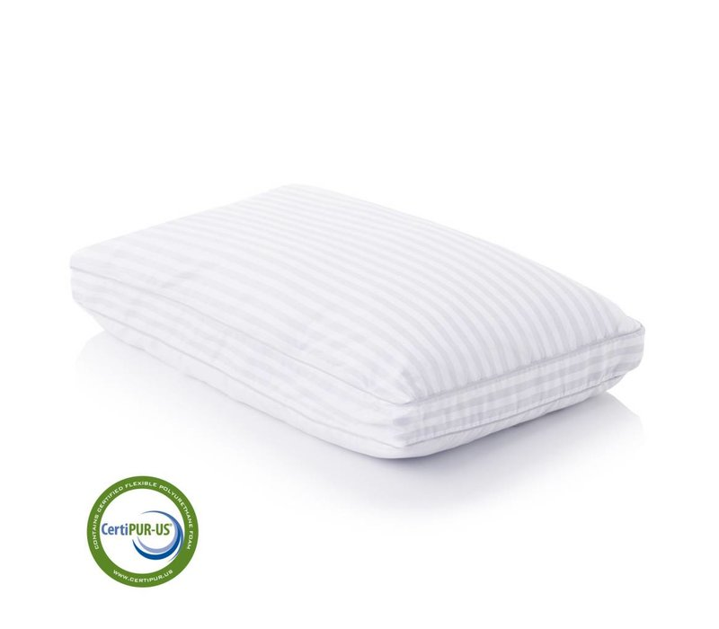 Convolution Gelled Microfiber Pillow - Queen