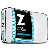 Zoned Gel Dough Pillow Mid Loft - Queen