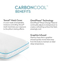 Carbon Cool + Omniphase Pillow  - Queen