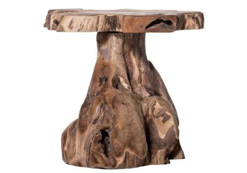 Jakarta Natural Wood Stool