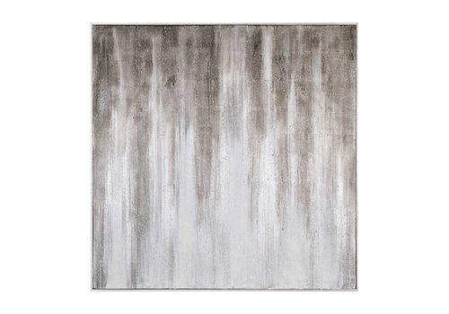 Straight & Narrow Grey Canvas