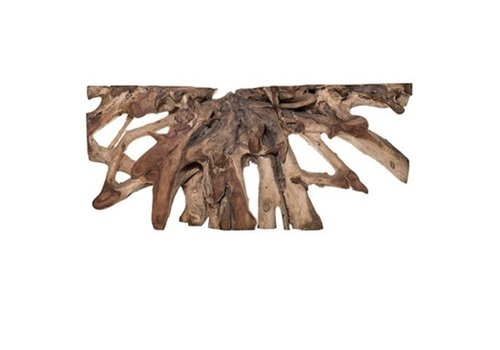 Jakarta Natural Small Wood Console Table - *Floor Model