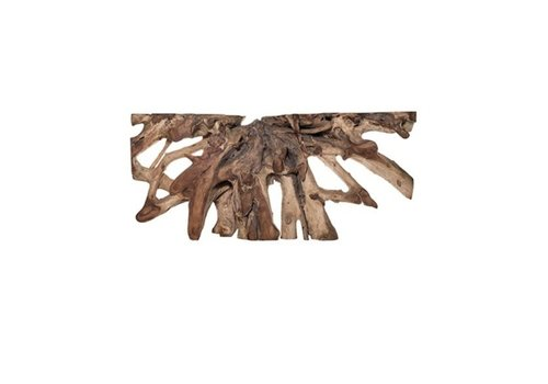 Jakarta Natural Small Wood Console Table