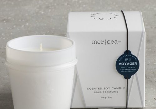 Mer-Sea & Co. Mer-Sea & Co. Small Boxed Candle